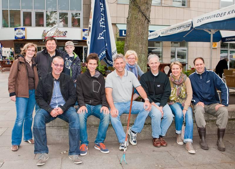Baumpflege Alter Markt - Lionsclub Auxilia Dortmund